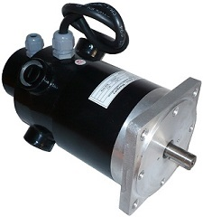 600W brushed servomotor(with encoder)