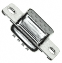 DSUB-15 (2-row type) female, solder connector