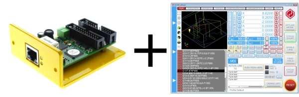 UCCNC license key + UC400ETH ethernet motion controller bundle