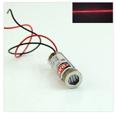 Red line laser 5mW, 650nm